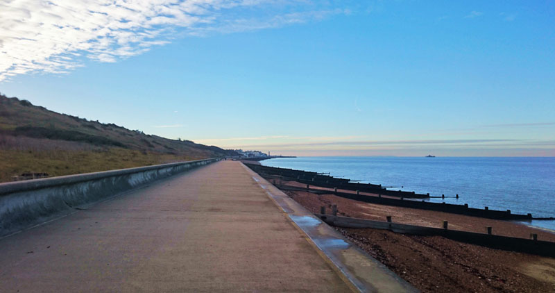 Heading towards Herne Bay on the Viking Pathway - Gallery Image