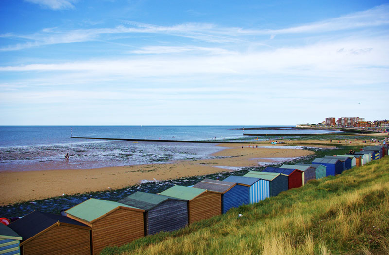 Minnis Bay beach and Beach Huts - Gallery Image