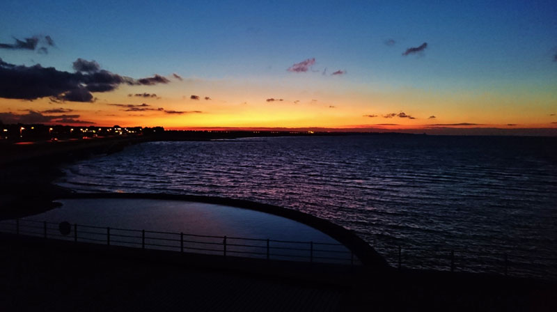Minnis Bay Sunset - Gallery Image
