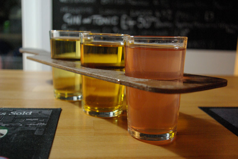 Pop over the road to the Old Bay Alehouse for some lovely cider or three! - Gallery Image