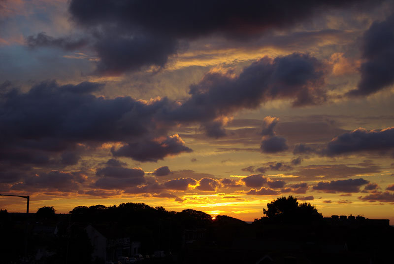 Sunset from the Roof - Gallery Image