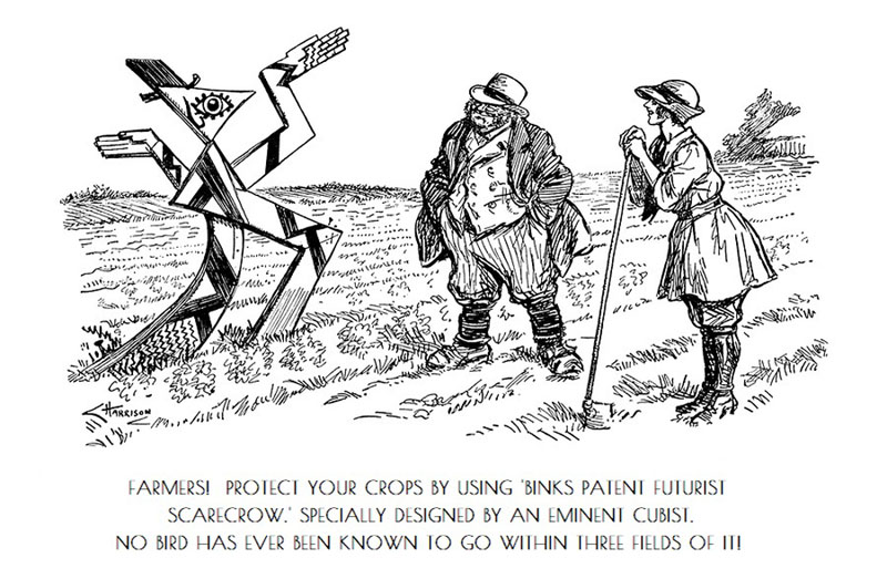 Vintage Punch Cartoon - Gallery Image